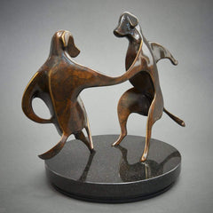 """Tuxedo Hop""-Laurel Peterson Gregory-Renee Taylor Gallery"