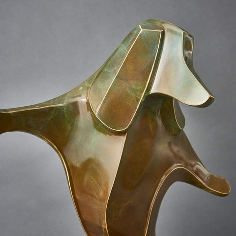 """Twist Dachshund""-Laurel Peterson Gregory-Renee Taylor Gallery"