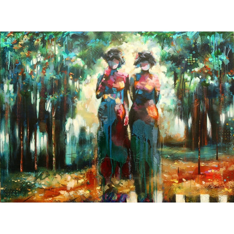 """Two Witnesses""-John & Elli Milan-Renee Taylor Gallery"