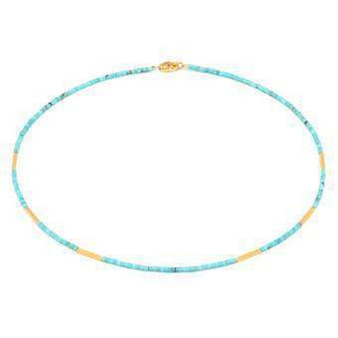 Waina Turquoise Necklace - 85724256-Bernd Wolf-Renee Taylor Gallery