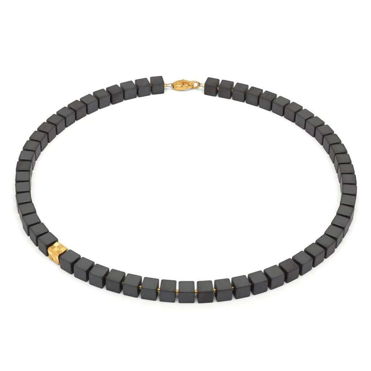Weluno Hematite Necklace - 84431276