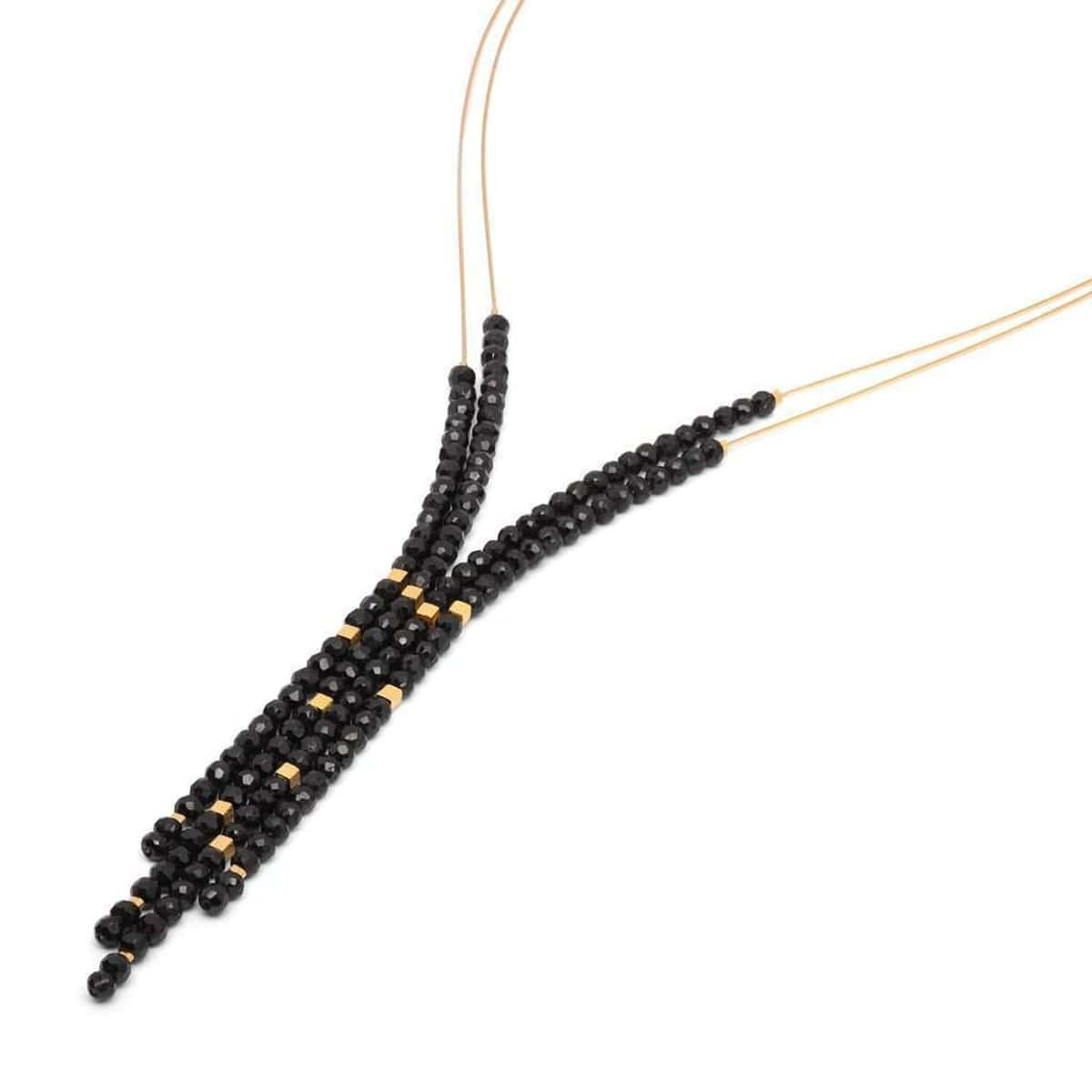 Yanessa Black Spinel Necklace - 85605496-Bernd Wolf-Renee Taylor Gallery