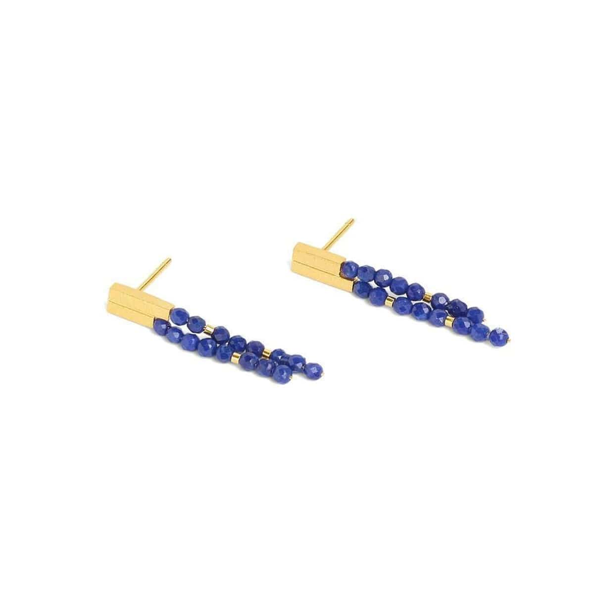 Yanizzi Lapis Lazuli Earrings - 15787236-Bernd Wolf-Renee Taylor Gallery
