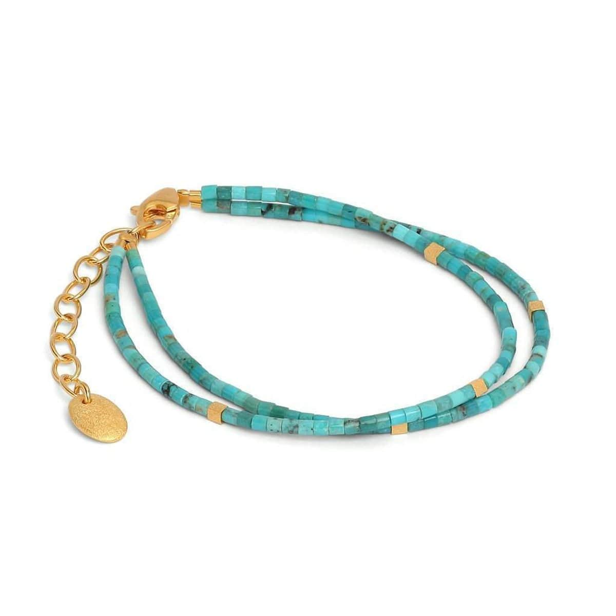 Yaquina Turquoise Bracelet - 82074256-Bernd Wolf-Renee Taylor Gallery