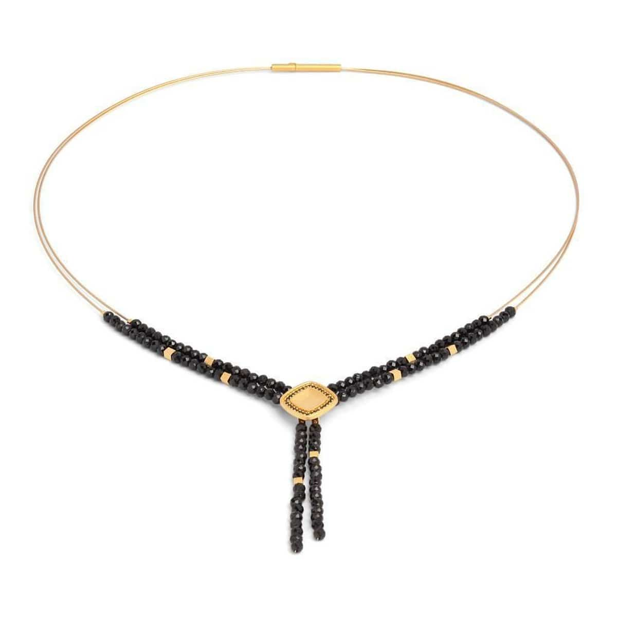 Ypava Black Spinel Necklace - 85614496-Bernd Wolf-Renee Taylor Gallery
