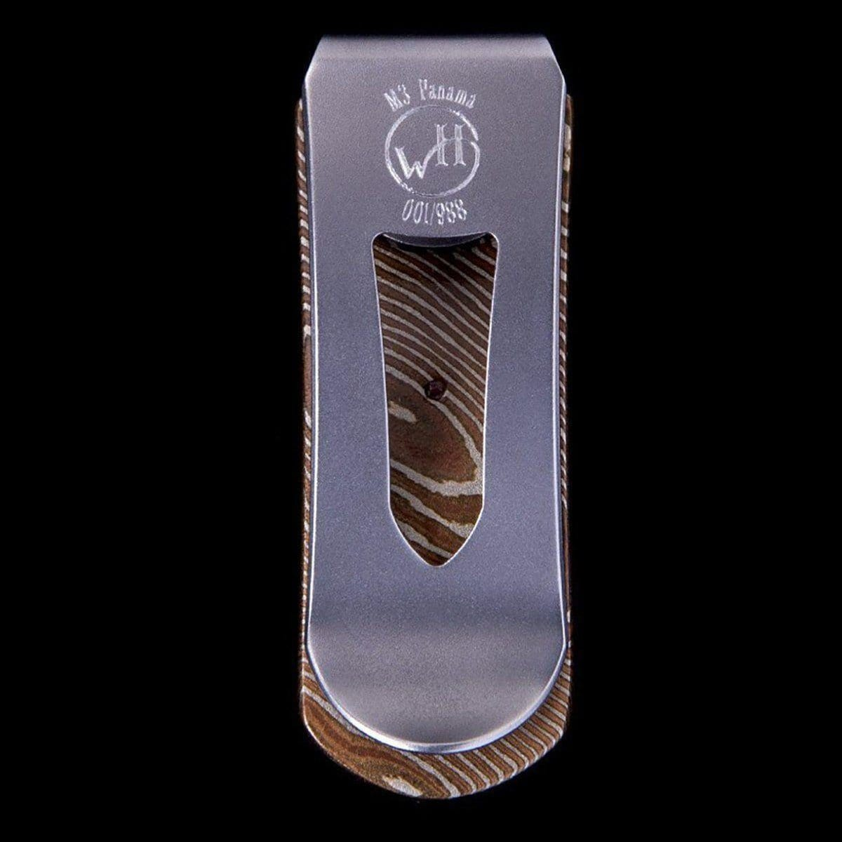 Zurich Panama Limited Edition Money Clip - M3 PANAMA - William Henry