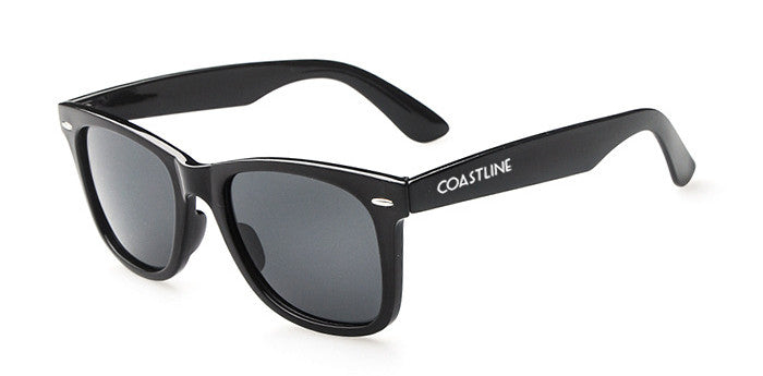 The Hampton- Wayfarer Sunglasses Black Frame