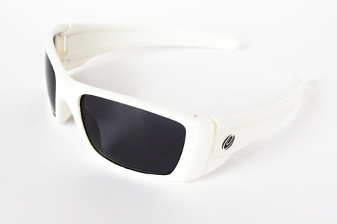 The Laguna- Floating Sunglasses White Frame