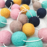 Felt Ball Garland - Autumn Harvest Accessories Winston + Grace