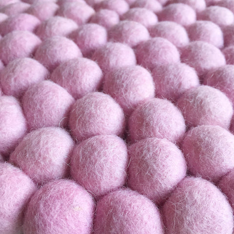 Felt Ball Rug - Pretty in Pink  Winston + Grace