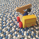 Felt Ball Rug - The Bruiser  Winston + Grace
