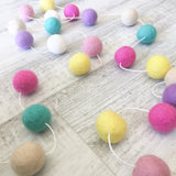 Felt Ball Garland - Flower and Fawn Accessories Winston + Grace