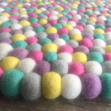Felt Ball Rug - Popping Candy  Winston + Grace