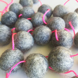 Felt Ball Garland - Lady Marble'Ade Accessories Winston + Grace