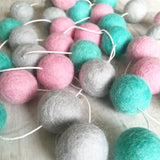 Felt Ball Garland - Winter Fair Accessories Winston + Grace