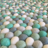 Felt Ball Rug - King Neptune  Winston + Grace