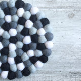 Felt Ball Mini Mat - MonoCool  Winston + Grace