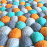 Felt Ball Mini Mat - Dream Weaver  Winston + Grace