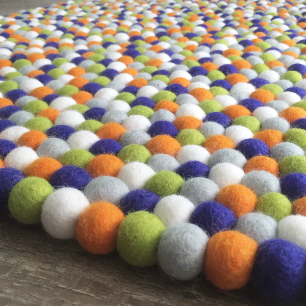 Felt Ball Rug - The Hungry Caterpillar - Winston + Grace