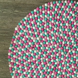 Felt Ball Rug - Coconut Ice  Winston + Grace