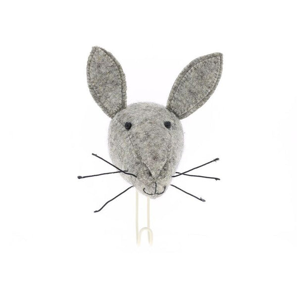 Fiona Walker Felt Animal Hook - The Hare  Winston + Grace
