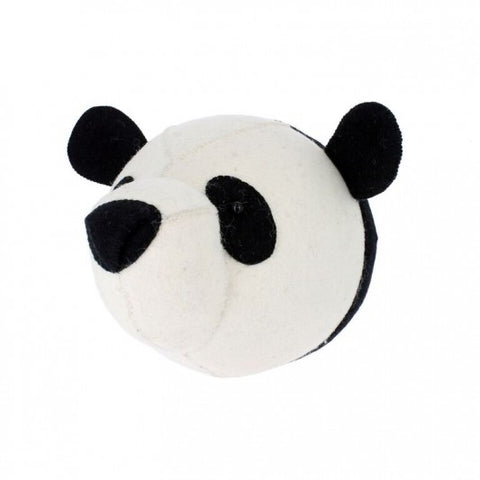 Fiona Walker Felt Animal Head - The Panda  Winston + Grace