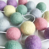 Felt Ball Garland - Pastel Perfection Accessories Winston + Grace