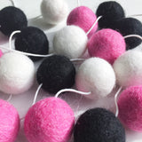 Felt Ball Garland - Pink Panther Accessories Winston + Grace