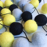Felt Ball Garland - Batmania Accessories Winston + Grace