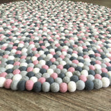 Felt Ball Rug - Mighetto's Muse - Free Shipping  Winston + Grace