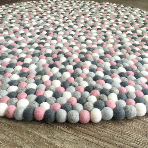 Felt Ball Rug - Mighetto's Muse - Free Shipping