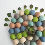 Bunchie Felt Ball Garland - Into The Woods Accessories Winston + Grace