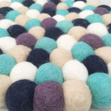 Felt Ball Mini Mat - Lily Pad  Winston + Grace