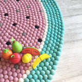 Felt Ball Rug - Mellow Melon  Winston + Grace