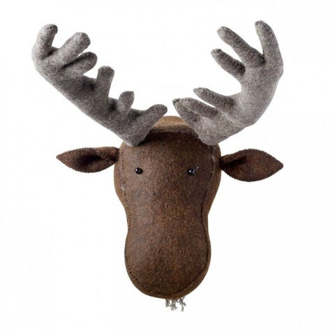 Fiona Walker Felt Animal Head - The Moose  Winston + Grace