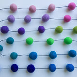 Felt Ball Garland - All The Pretty Rainbows Accessories Winston + Grace