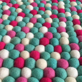 Felt Ball Rug - Breakfast at Asher's  Winston + Grace