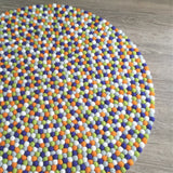 Felt Ball Rug - The Hungry Caterpillar  Winston + Grace