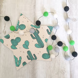 Felt Ball Garland - Cactus Cool Accessories Winston + Grace