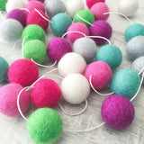 Felt Ball Garland - Spring Break Accessories Winston + Grace