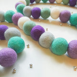 Bunchie Felt Ball Garland - Let It Go Accessories Winston + Grace