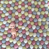Felt Ball Rug - Pink Lemonade  Winston + Grace