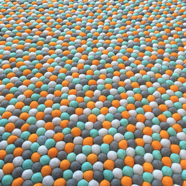 Felt Ball Rug - Dream Weaver  Winston + Grace
