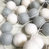 Felt Ball Garland - The King's Cloud Accessories Winston + Grace