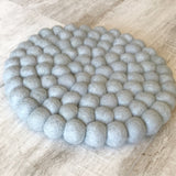 Felt Ball Mini Mat - Grey Goose  Winston + Grace