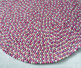Felt Ball Rug - Pink Princess  Winston + Grace