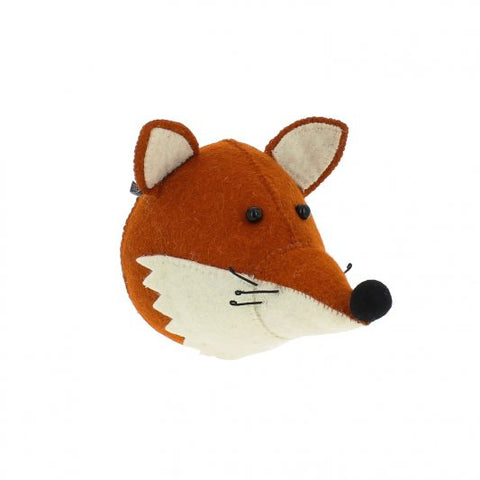 Fiona Walker Felt Animal Head - The Fox  (Mini)