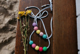 Felt Ball Necklace - The Traffic Stopper  Winston + Grace