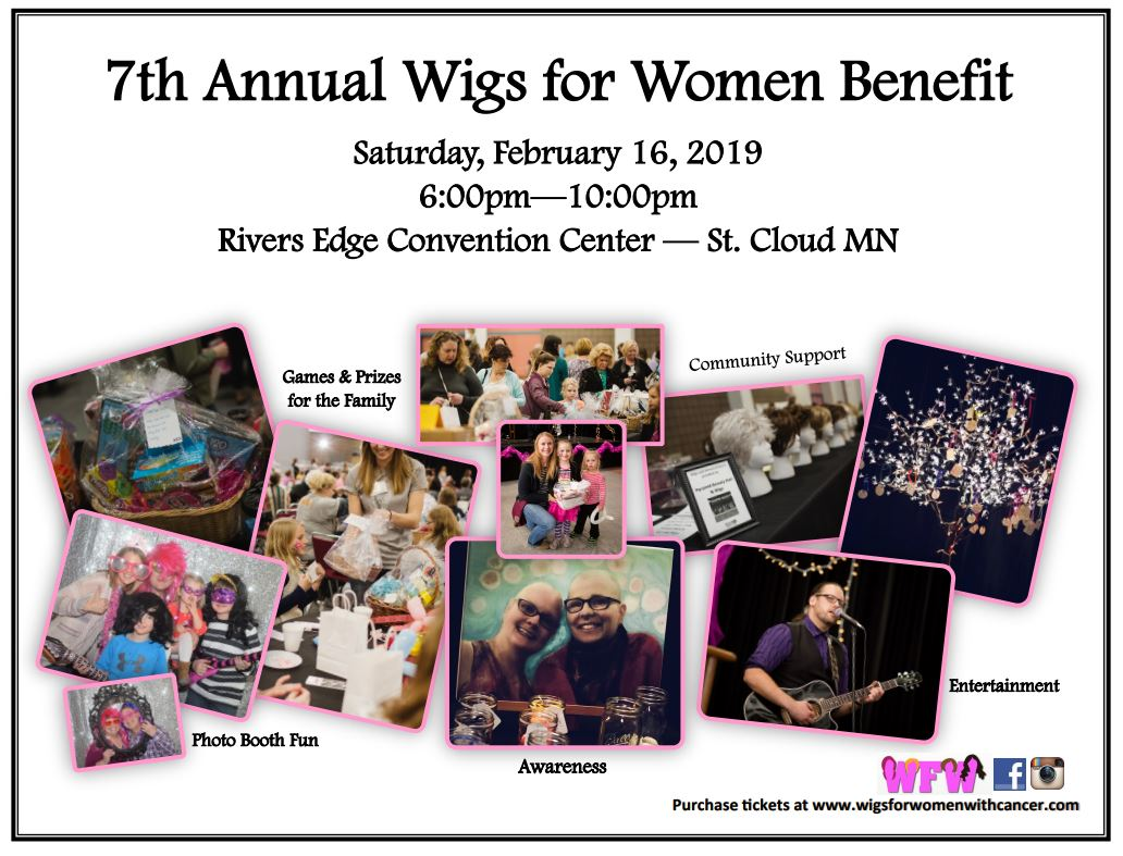 7th Annual Wigs for Women Fundraising Event!