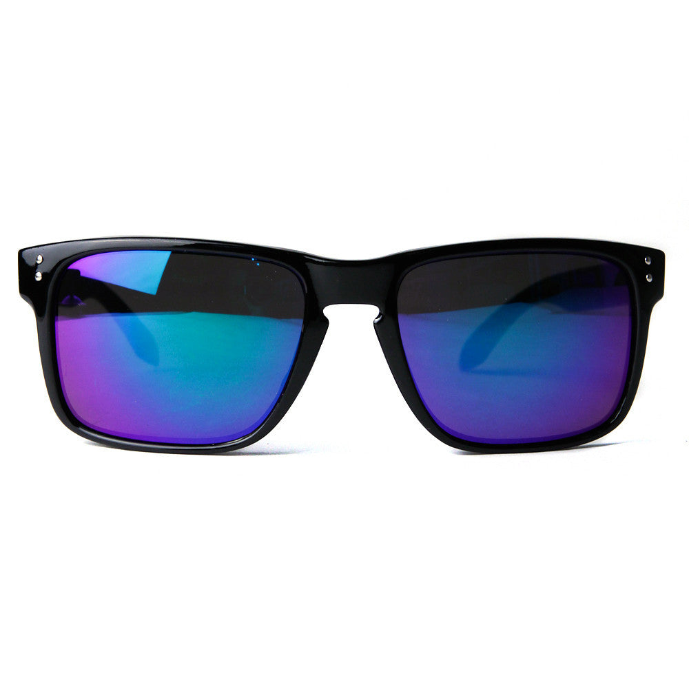 80's - Hunter II Men's Square Frame Sunglasses